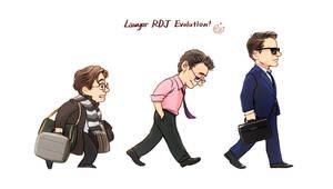 Lawyer RDJ Evolution! by Hallpen
