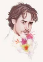 flowers by Hallpen