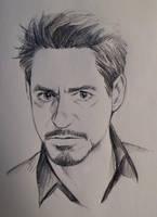 pencil doodle by Hallpen
