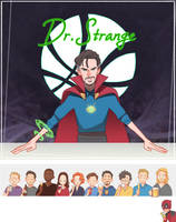 Dr.Strange's limitless Bar by Hallpen