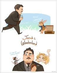 Jacob in Wonderland by Hallpen