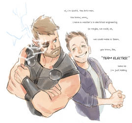 TEAM ELECTRIC by Hallpen