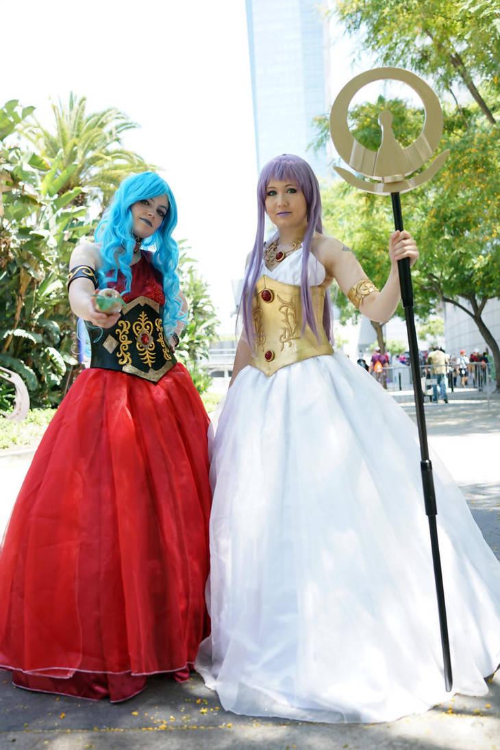Eris and Athena by CelestialShadow19