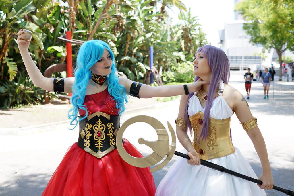 Eris and Athena 2 by CelestialShadow19