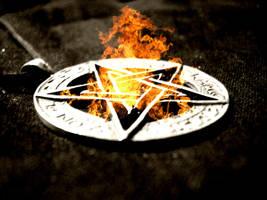 The Pentagram Burns by SettingFireToTheSun