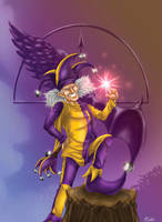 Malcolm the jester by Taleea