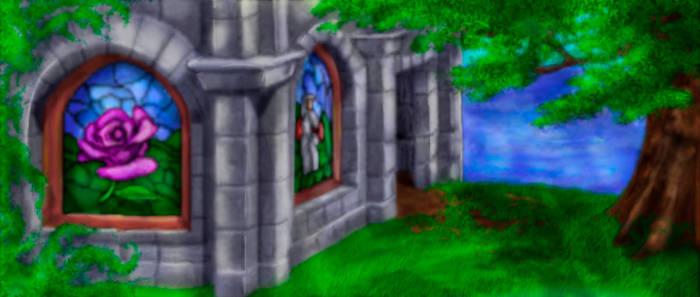 Kyrandia Screenshot 6 - Brynn's Temple - by Taleea