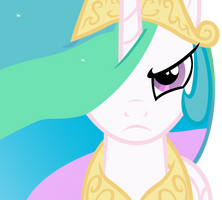 Celestia Will Protect Her Subjects w/o Background by craftybrony