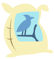 Sack of Bird Feed by craftybrony