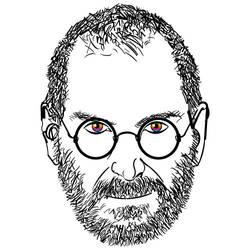 Steve Jobs - Type Art Tribute by Wandering-Pixie