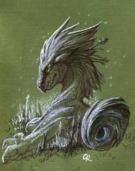 Swamp Hunter by Rait-StormDragoness
