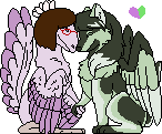 Mani and Kati - Pixel by Birdon14