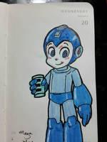 Mega Man by MrBIGAL
