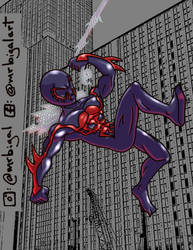 Spider-Man 2099 by MrBIGAL