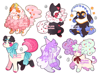 [CLOSED] Circus Batch adopts FLATSALE by t-eas
