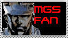 Metal Gear Solid Stamp by Solidfox07