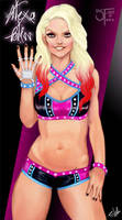 Alexa Bliss by gintrax13