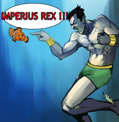 Namor by gintrax13