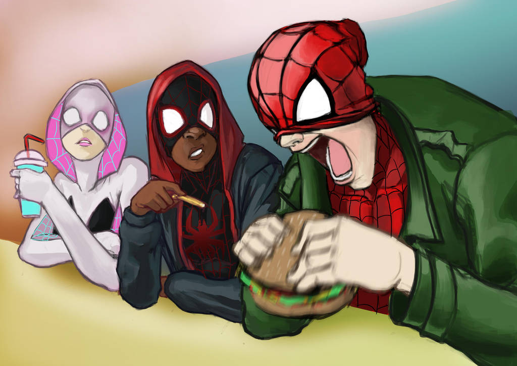 into the burger-verse by gintrax13