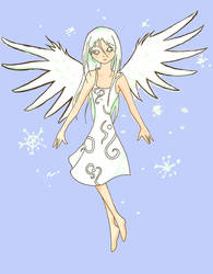 Snow angel by SweetLogic