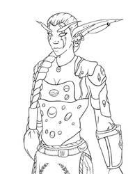 WoW main character by Faharis
