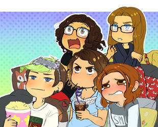 Draw The Whole Squad! by MaxGabbyMeow
