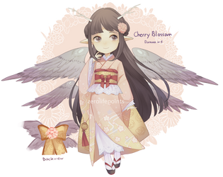 Cherry Blossom - Florauna #8 CLOSED by ZeroLifePoints