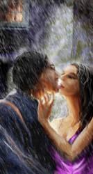 First Kiss by Alisha-Mordicae