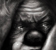 tears of a clown by Alisha-Mordicae