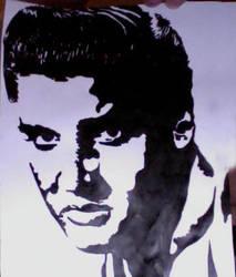 Elvis Presley by Livednatas