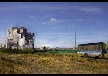 VAB Matte Painting by Livednatas