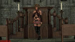 RLA Tabitha Pinup 2 by redleatherart