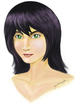 Green Eyes by papernyok