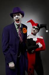Joker + Harley by convokephoto