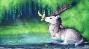 [C] .: Secret place :. by ancarie-bluewolf