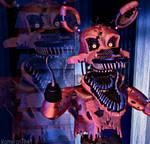 Fnaf4/Sfm] Nightmare Foxy by Kameron-Haru
