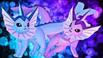 Pokemon\Sfm] Vaporeon by Kameron-Haru