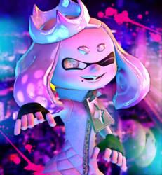 Splatoon 2] Pearl by Kameron-Haru