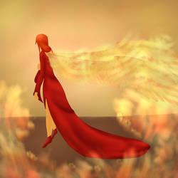 Phalia (lonely phoenix) by Rosenwood1