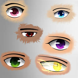 Eyes by Rosenwood1