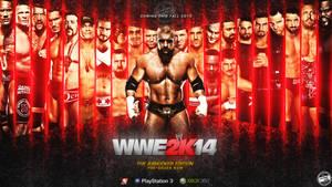 WWE 2K14 WALLPAPER 1.2 GFX ENTRY by Llliiipppsssyyy