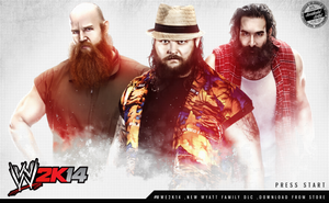 WWE 2K14 LOADING SCREEN WYAT FAMILY by Llliiipppsssyyy