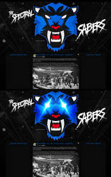 The Spectral Sabers Website (BLUE) by Llliiipppsssyyy