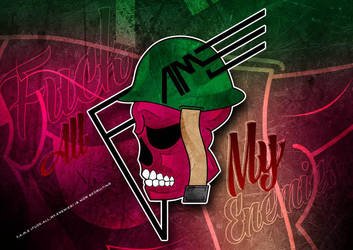 F.a.m.e Logo wip colouring isnt final by Llliiipppsssyyy