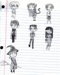 Halloween Sketches by xXAiStrawberryXx