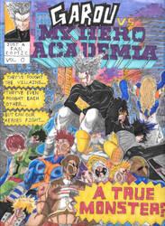 Garou vs. My Hero Academia [OPM x MHA] by SuperSunnyDee