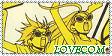 Love Com ROCK Stamp by Chocotorta