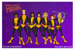 The Original New Mutants by Femmes-Fatales