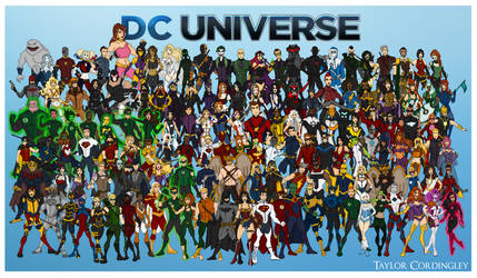My DC Universe - Complete Redesign Collection by Femmes-Fatales