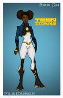 Power Girl - Teen Titans by Femmes-Fatales